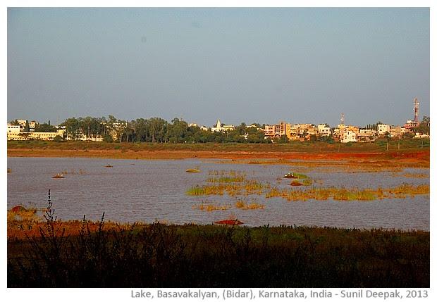 Basavanna lake, Basavkalyan, Karnataka - images by Sunil Deepak, 2013