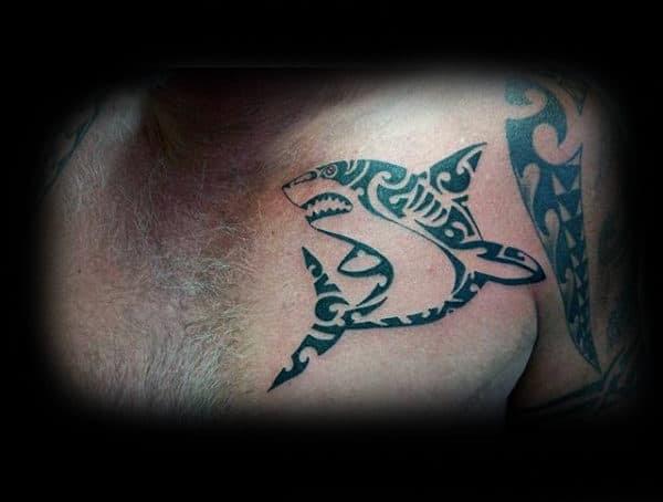 Tribal Shark Tattoo Designs For Men Wwwrumahbettorcom