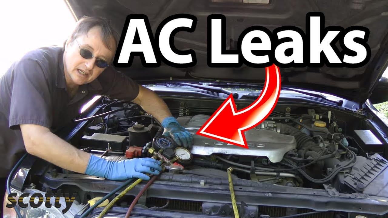 Automotive Air Conditioning Leak Repair - YouTube