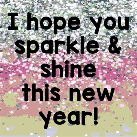 Sparkle And Shine This New Year! Free Friends eCards