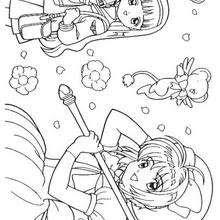 Dibujos Para Colorear Sakura Corriendo Eshellokidscom
