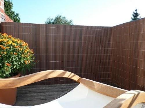 seitenmarkise videx 11594 balkonverkleidung kunststoffmatte plastic matt 90 x 300. Black Bedroom Furniture Sets. Home Design Ideas