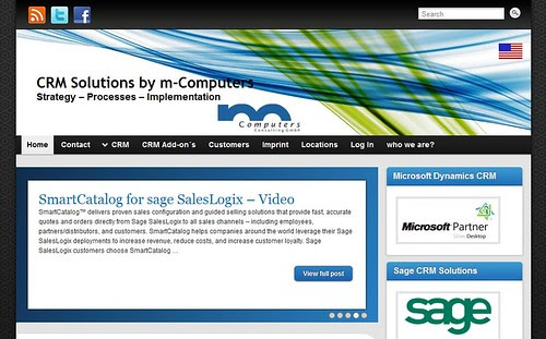 CRM Solutions by m-Computers by totemtoeren