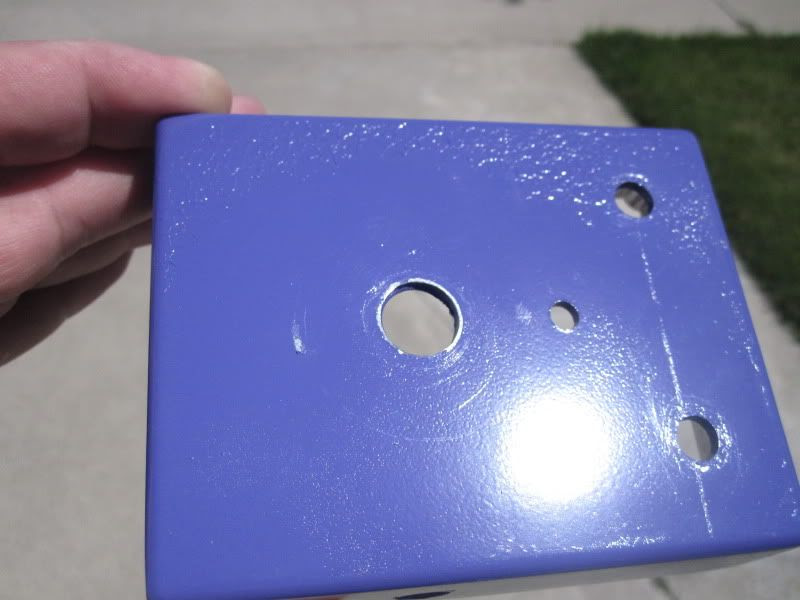 painting enclosures damages