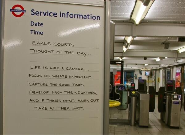 24 London Underground Signs That Will Brighten Your Day