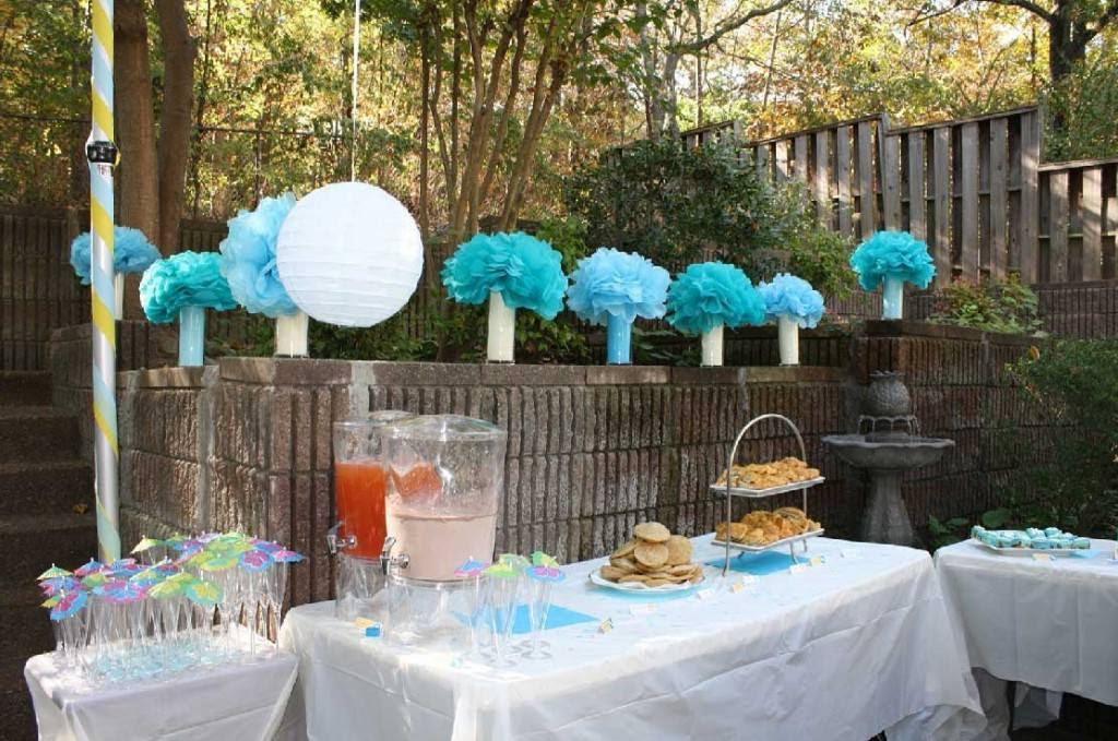 Ideas for Baby Boy Shower Decorations