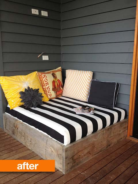 10 Simple DIY Outdoor Beds   Shelterness