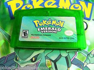 Unlocked Authentic Emerald All 386 Legit Pokemon Nintendo