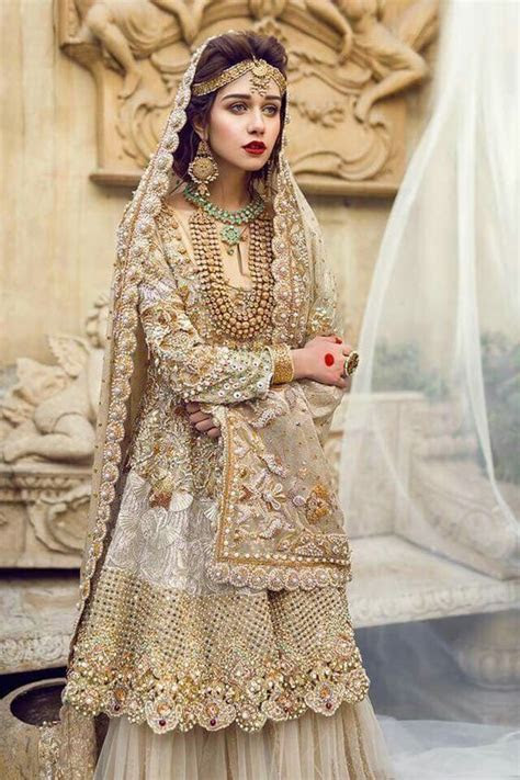 New Barat Dresses Designs For Wedding Brides 2017 2018