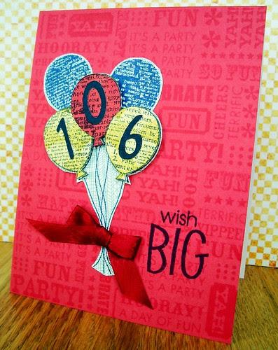 Wish Big 106 bday