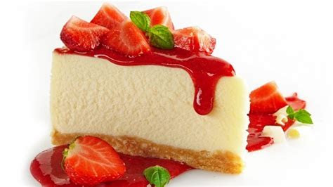 Strawberry Cheesecake HD Wallpaper   WallpaperFX