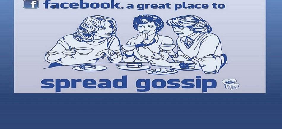 Το κουτσομπολιό στο facebook βλάπτει σοβαρά την υγεία