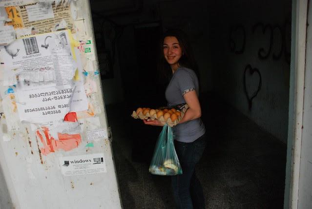 Easter girl, Didi Digomi, Tbilisi