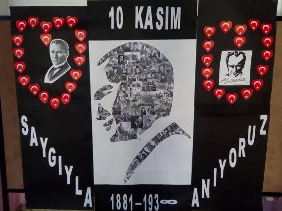 10 Kasım Atatürk Panosu Eğitim Bilişim Ağı