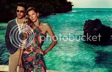 Gisele Bundchen for Salvatore Ferragamo Spring/Summer 2012 Campaign