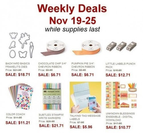 Weekly Deals Nov