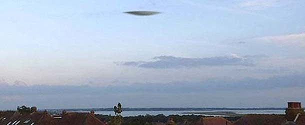 Meteorólogos descartan que el OVNI aparecido en Portsmouth pueda ser una nube