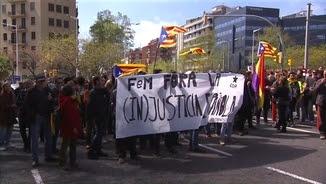 Manifestació dels CDRs de rebuig a la presència del rei
