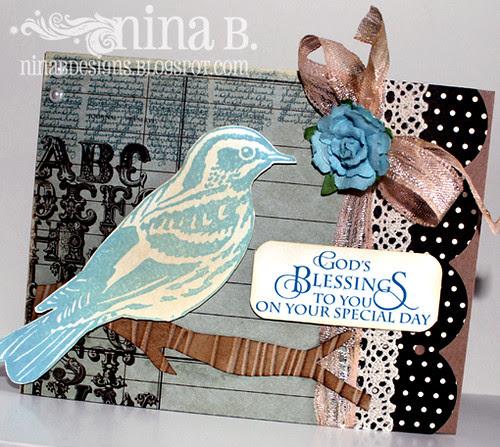Warbler card