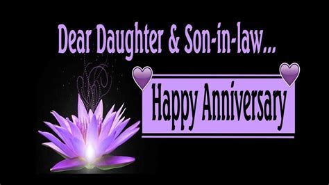 Happy Anniversary To My Daughter & Son In Law   YouTube