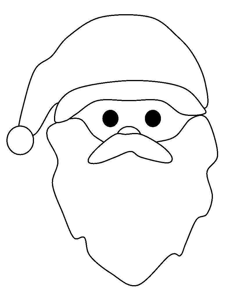 Komik Fipixde Okul öncesi Noel Baba Boyama