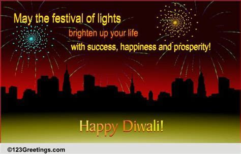 A Corporate Diwali Wish! Free Business Greetings eCards