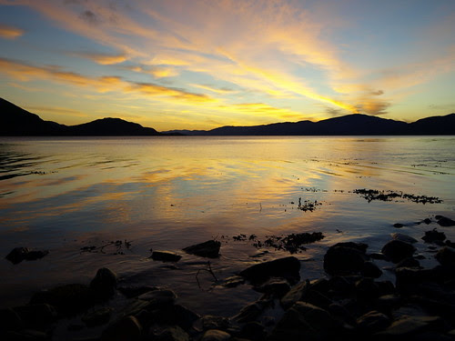 Onich Sunset by Graham Maxwell