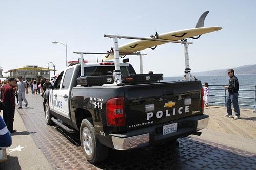Coche de la policía de Santa Monica (California)