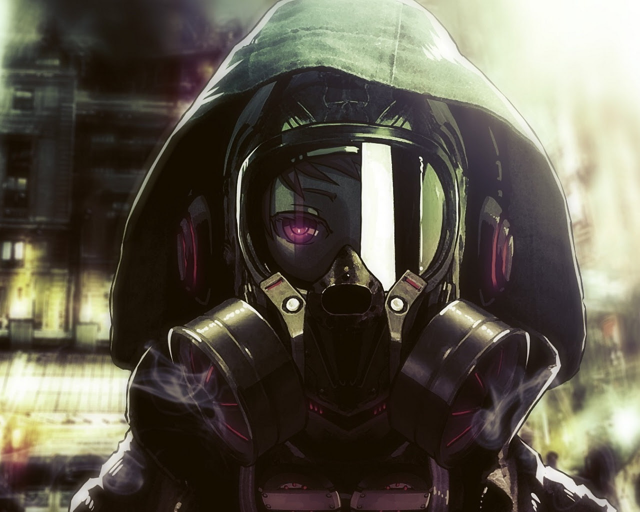 Awesome Mask Handsome Anime Boy Wallpaper