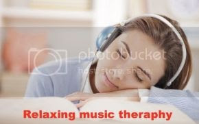 Relaxing instrumental music therapy
