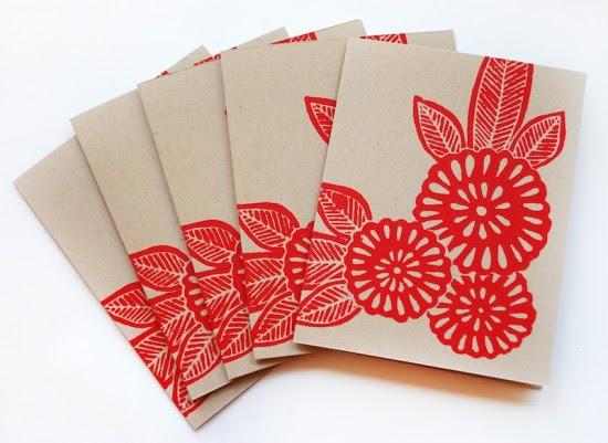 Printing Methods Block Printing Katharine Watson1 550x401 The Printing Process: Block Printing