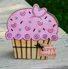 big cupcake birthday