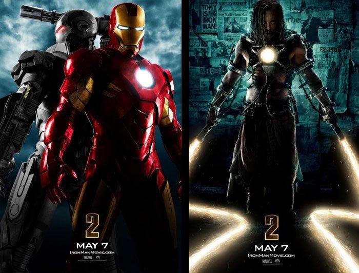 IRON MAN 2 posters.