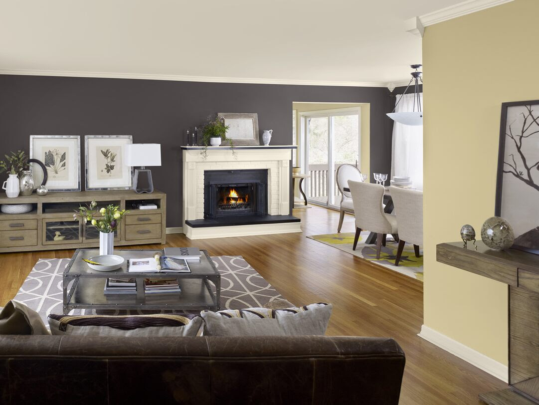 Living Room Color Schemes - Color Trends 2013 Video - Benjamin Moore