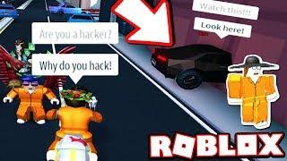 Interviewing A Jailbreak Cheater Car Noclip Roblox - cheats hack free roblox jailbreak