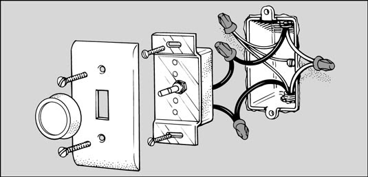 Wiring Diagram For Single Pole Light Switch