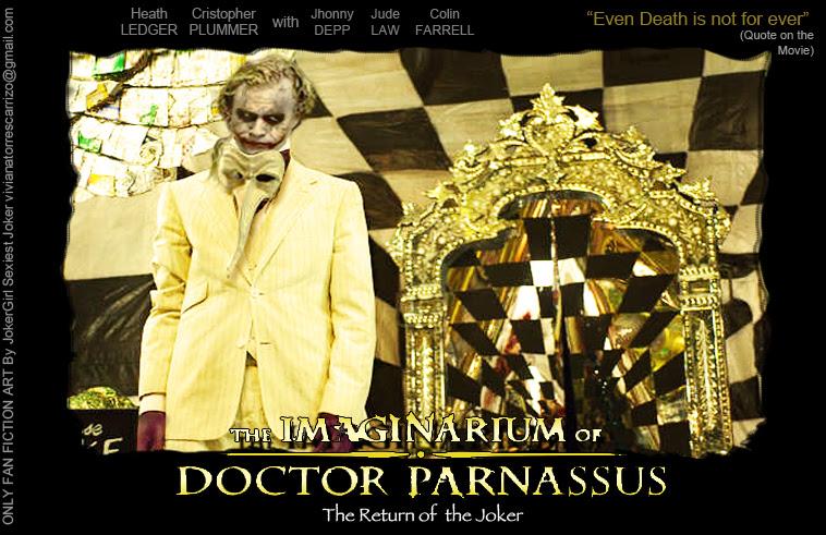 Joker Returns In Imaginarium Of Dr Parnassus Heath Ledger Fan