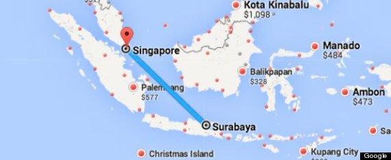 missing plane map