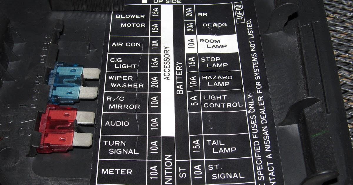96 240sx Fuse Diagram
