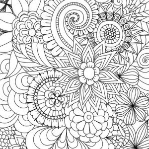 free printable spring coloring pages for adults at getdrawings  free download