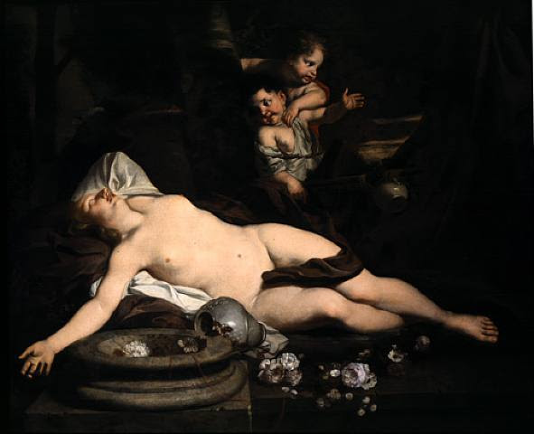 File:16xx Gérard de Lairesse - Sleeping Bacchante.jpg