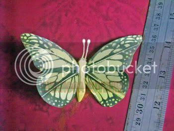 Souvenir Kupu-kupu sayap 2 sablon kecil