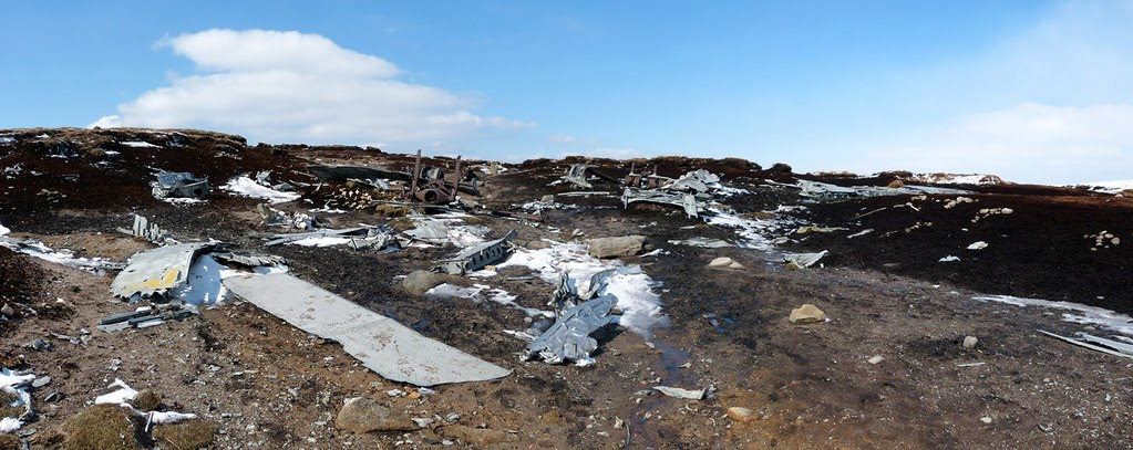 29491 - Overexposed Crash Site, Bleaklow
