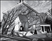 the NYT picture of Truro Church