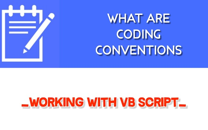 What Are Coding Conventions?