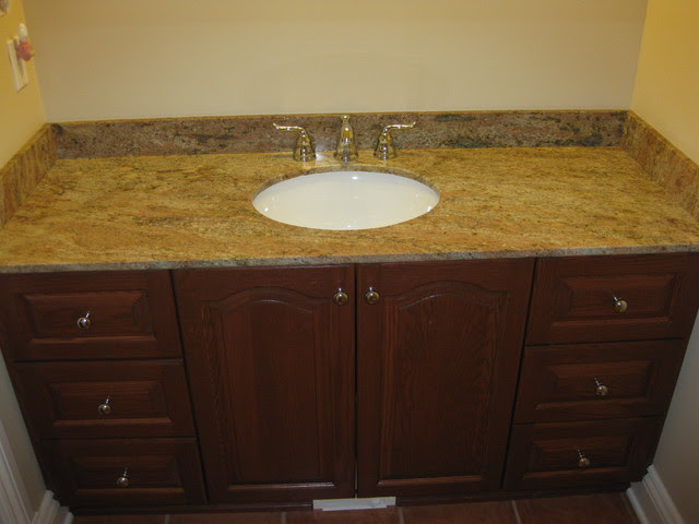 Ottawa Granite Bathroom Vanity Tops traditional-bathroom