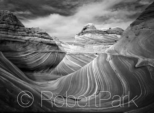 """""""Infinity"""" Coyote Buttes Wilderness Area in Northern Arizona. By Robert Park  http://www.robert-park.com by Robert Park Photography"""
