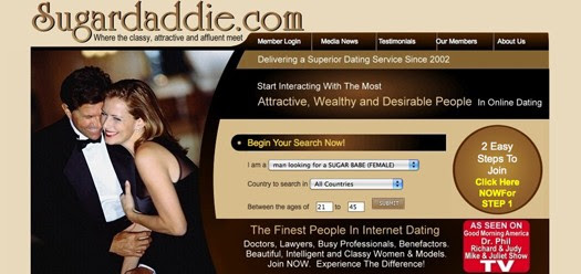 rich woman dating sites