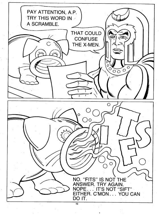 X-Men Super Activity Book00014