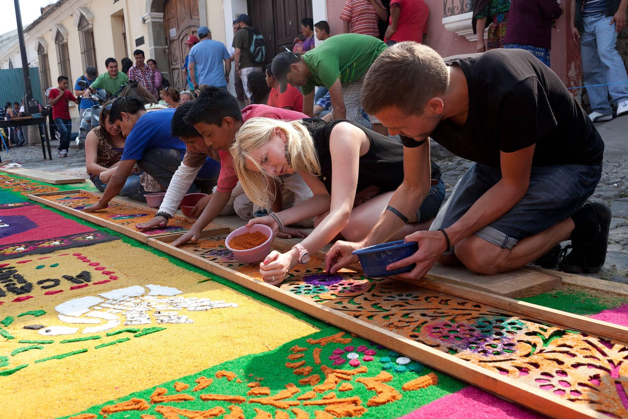 La alfombra • Choosing Figs
